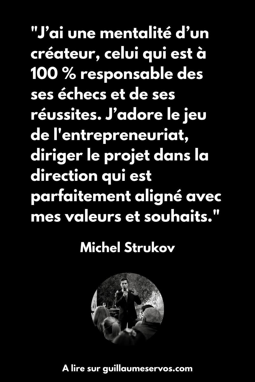 Citation de Michel Strukov