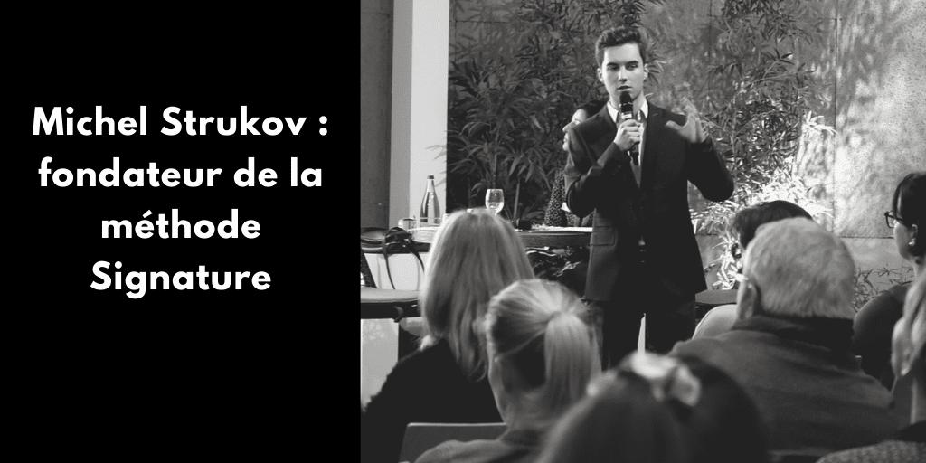 Découvre mon interview avec Michel Strukov, consultant et fondateur de la méthode Signature. Son rapport à l'entrepreneuriat, aux réseaux sociaux et au voyage.