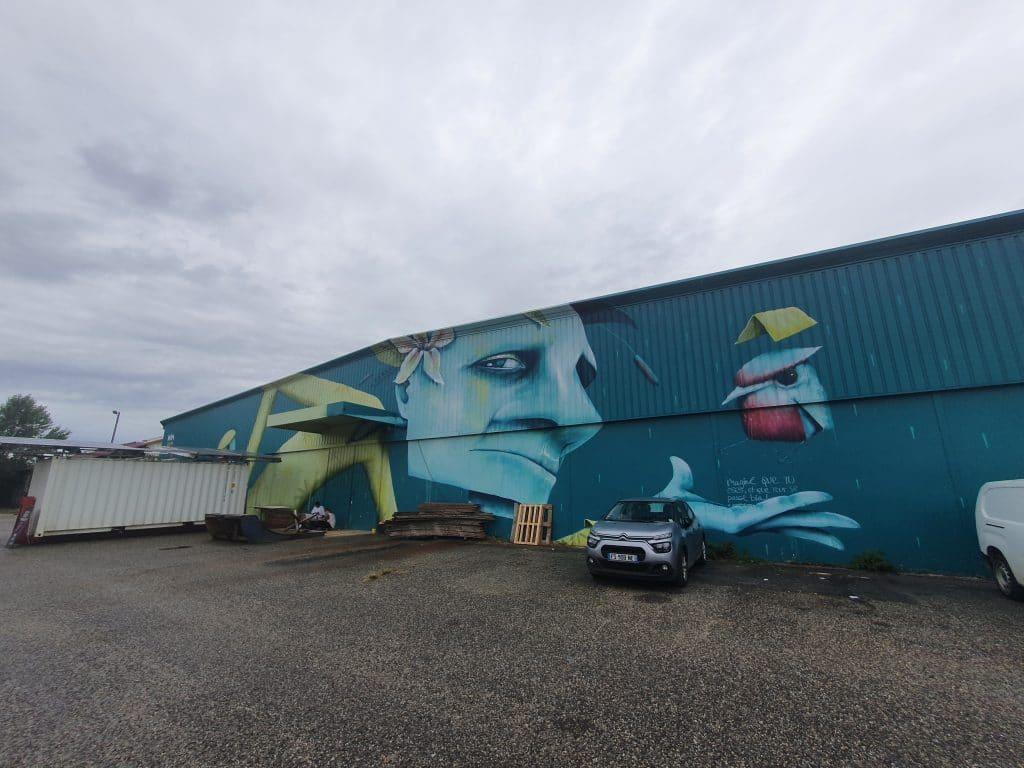 Street Art Bordeaux #13 : Mika Husser