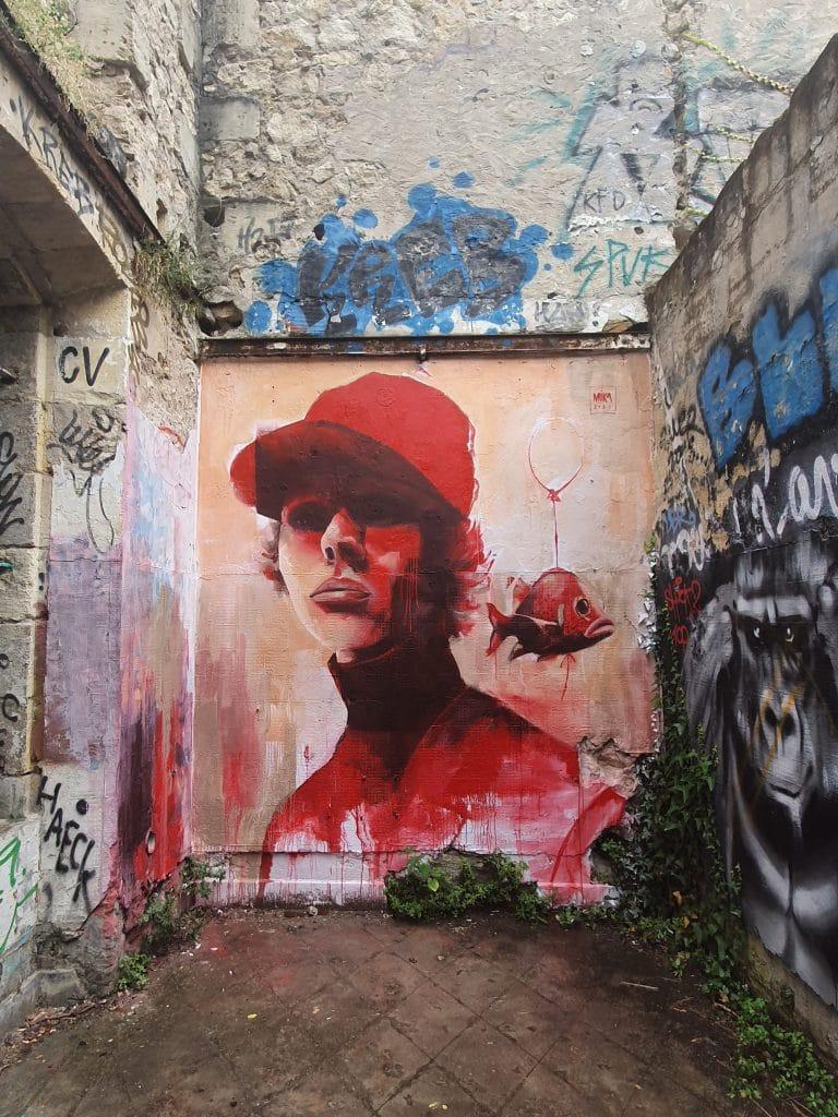 Mika Husser, espace Darwin, Bordeaux (France)