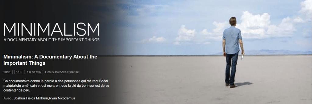 L'excellent documentaire Netflix de Joshua Fields Millburn et Ryan Nicodemus