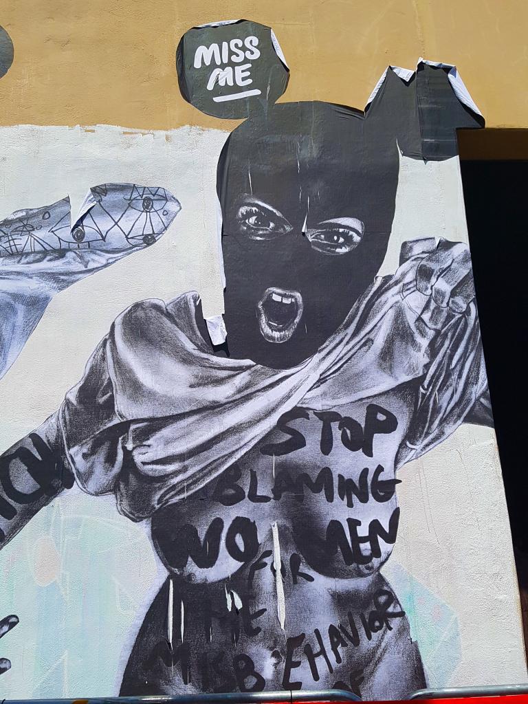 La street artiste MissMe et sa participation au festival street art Peinture Fraîche de Lyon