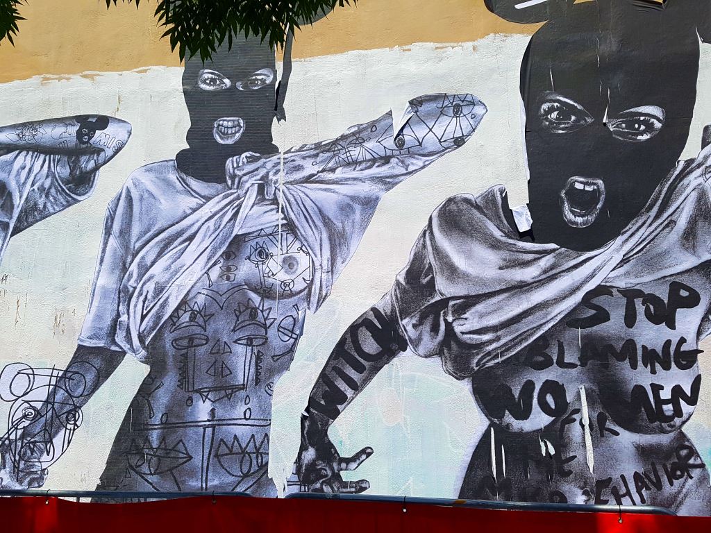 le street art militant et féministe de MissMe au festival Peinture Fraîche de Lyon
