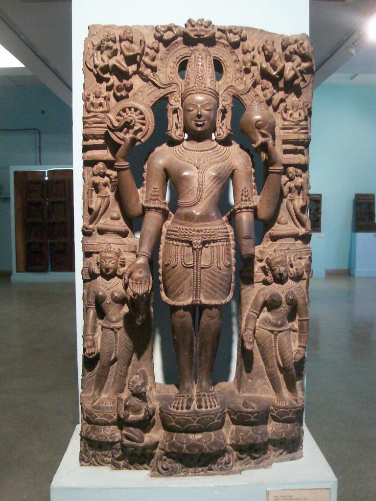 Les collections du musée national de New Delhi s'échelonnent de la préhistoire et la civilisation de l'Indus jusqu'à la fin du Moyen Age.