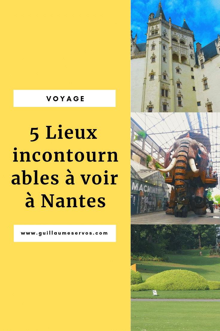 Découvrez les lieux emblématiques de Nantes. Au menu : les Machines de l'île, le château des ducs de Bretagne, le mémorial de l'abolition de l'esclavage.