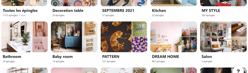 Le nom des tableaux Pinterest de Make My Lemonade