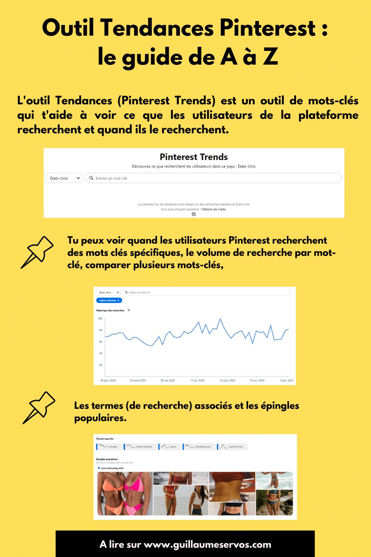 Comment générer plus de trafic vers ton site et optimiser ta présence avec l'outil Tendances de Pinterest, son outil de mots clés ?