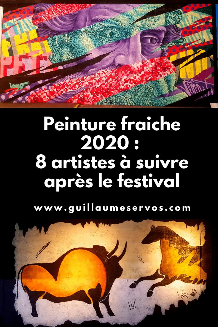 Découvre 8 street artistes que j'ai découverts lors du festival street art Peinture Fraiche 2020 de Lyon. Mars Yahl, By Dav, Capie, Bouda…