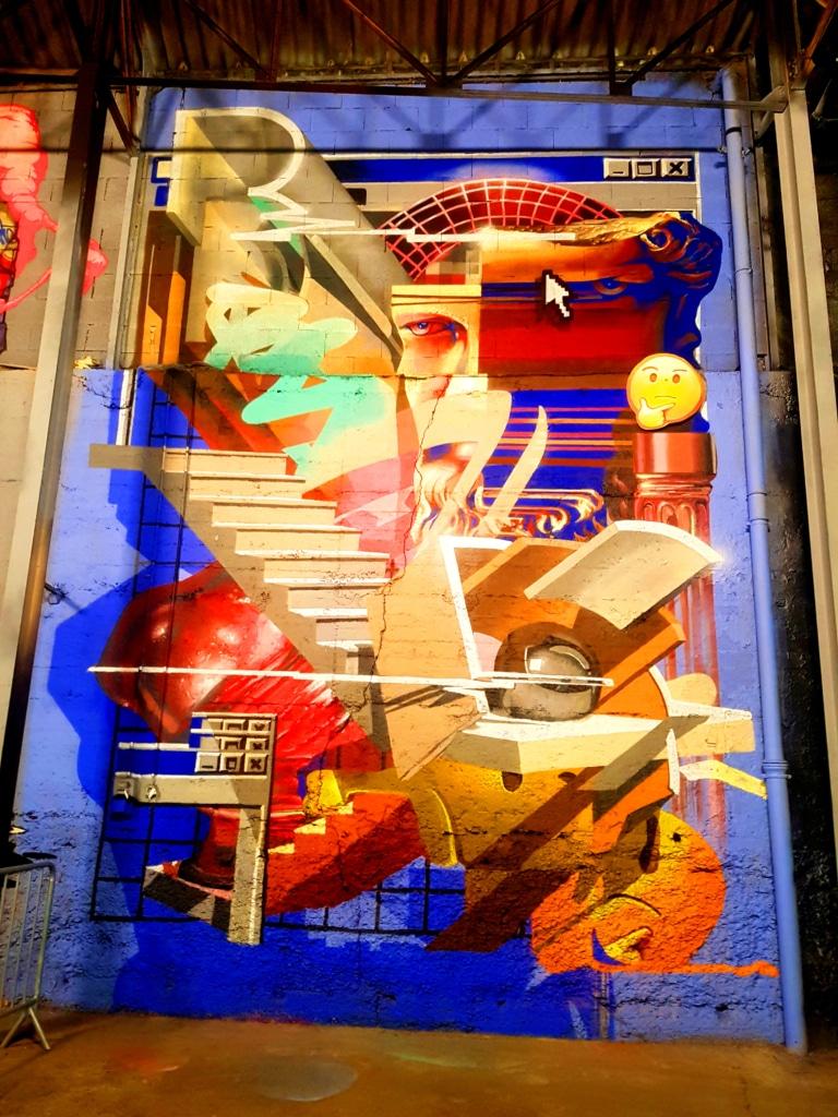 Dans les allées du festival street art à Lyon