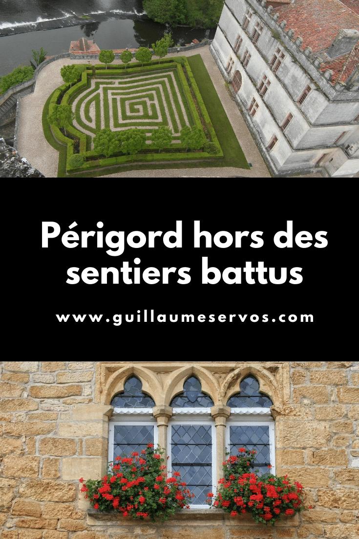 Tu pars dans le Périgord (Dordogne) et tu as envie de sortir hors des sentiers battus. Au menu : Bourdeilles, Brantôme, Commarque, Bergerac...