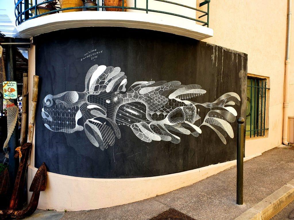 L'art urbain de Philippe Baudelocque dans les rues de Sète
