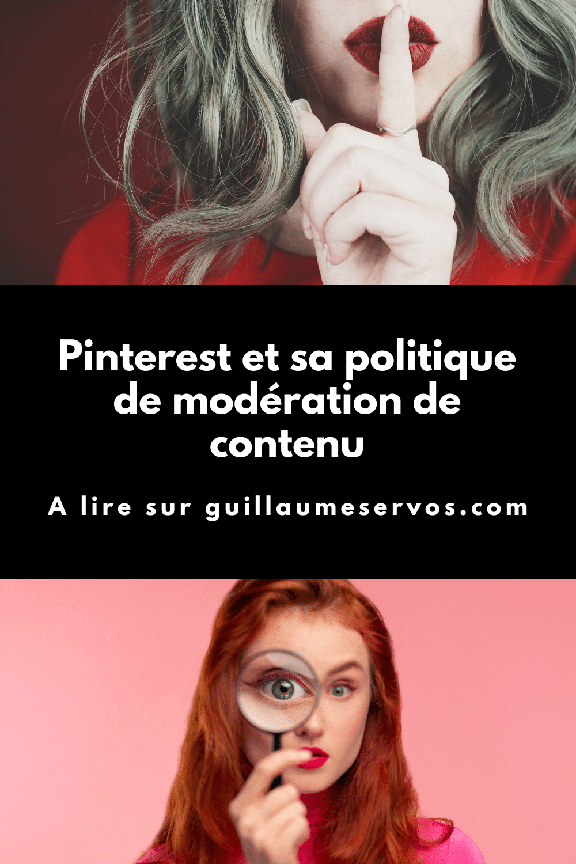 Envie d'en savoir plus sur la politique de modération de contenu de Pinterest ? Quelles sont les mesures prises au niveau des épingles ? Des tableaux ? Des comptes ? Quelles sont les infractions les plus courantes ?