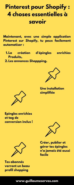 As-tu entendu parler du nouveau Pinterest pour Shopify ? Au menu : installation simplifiée, épingles enrichies, conversions...