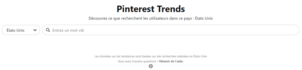 Comment fonctionne Pinterest Trends ?
