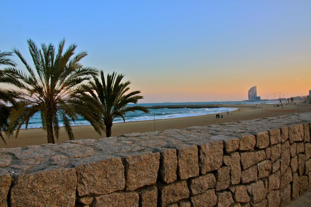 Il n'y avait aucune plage à Barcelone jusqu'en 1992.
