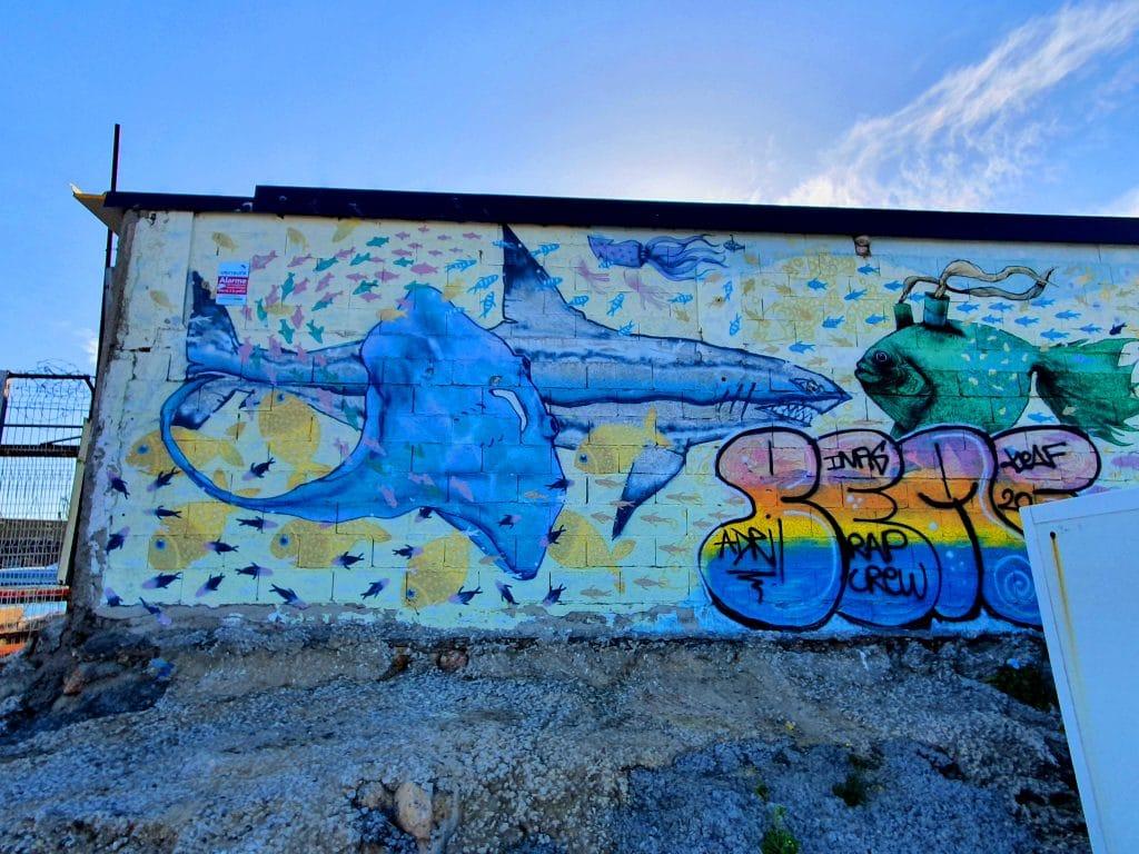 Graffiti à La Pointe Courte, Sète