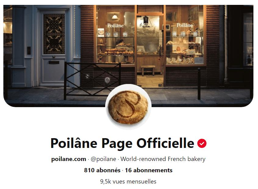 Photo de couverture du profil Pinterest de Poilâne