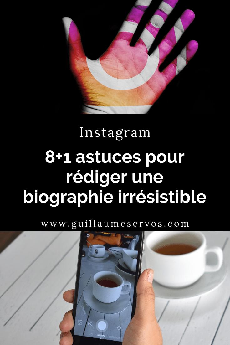Ta biographie Instagram te permet de montrer à tes nouveaux visiteurs pourquoi ils doivent s'abonner à ton compte. Au menu : des idées, des astuces, des exemples.