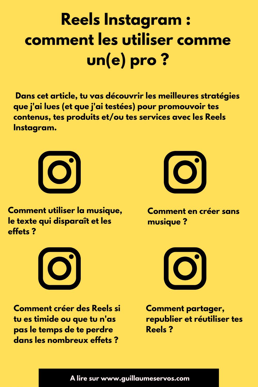 Envie de te mettre aux Reels Instagram ? Regardons ensemble pourquoi et comment les utiliser pour ton business et ton marketing.