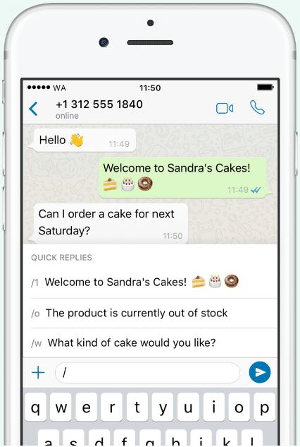 Répondre plus rapidement à tes clients avec Whatsapp Business