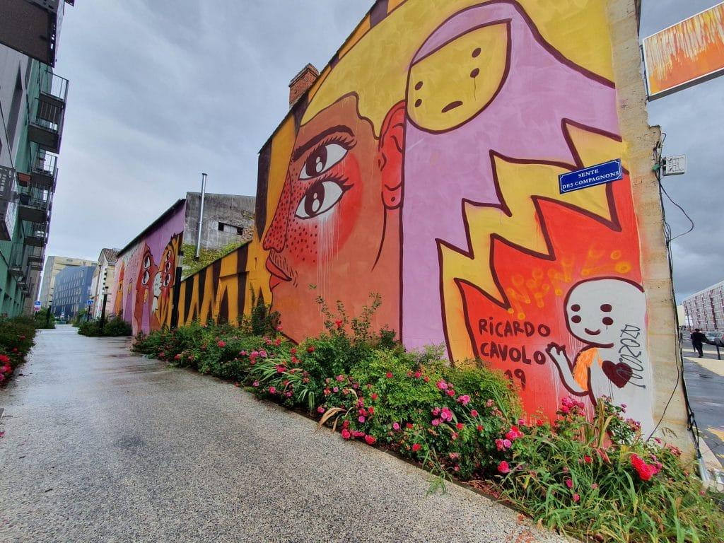 Street art Bordeaux #16 : Ricardo Cavolo