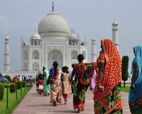 Découvre mon voyage haut en couleurs d'un mois en Inde du nord, de New Delhi à Bodhgaya, d'Amristar à Jaipur, du Taj Mahal au Golden Temple.
