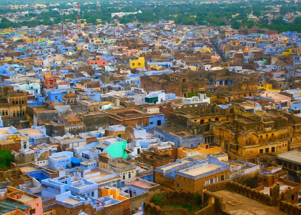 Bundi, l'autre ville bleue du Rajasthan après Jodhpur.