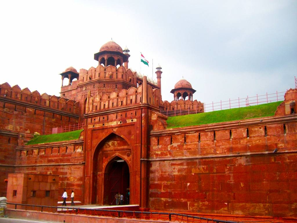 Le Fort Rouge de New Delhi, roadtrip en Inde