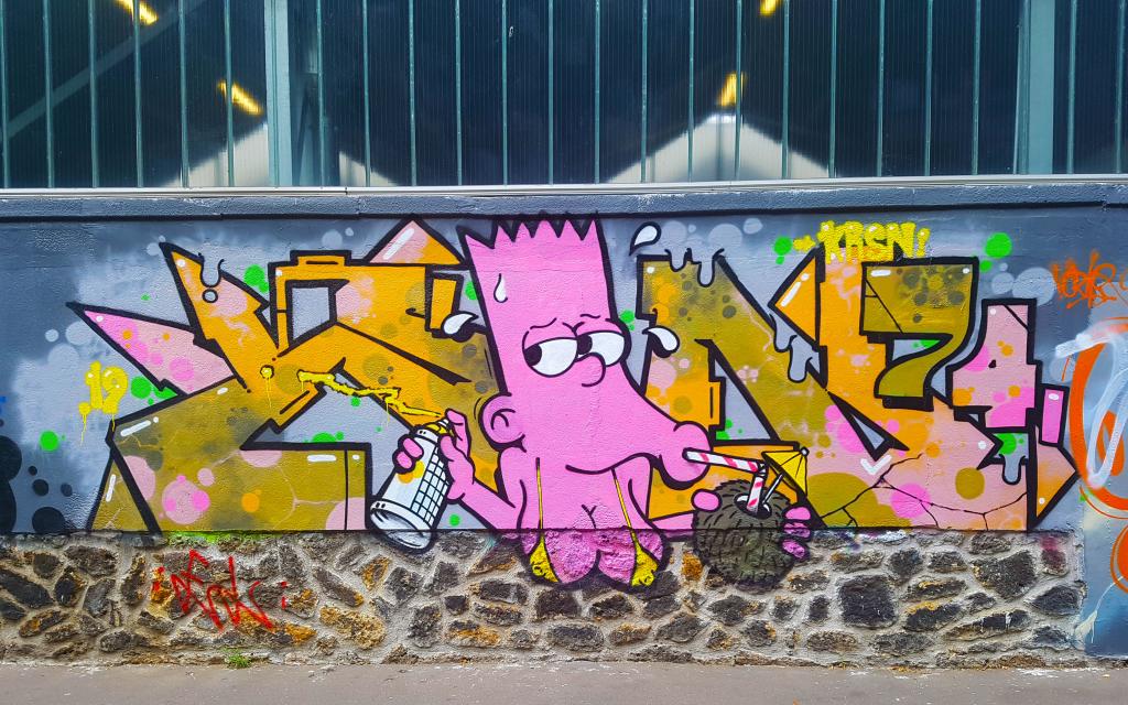 street art Paris en vrac n°8