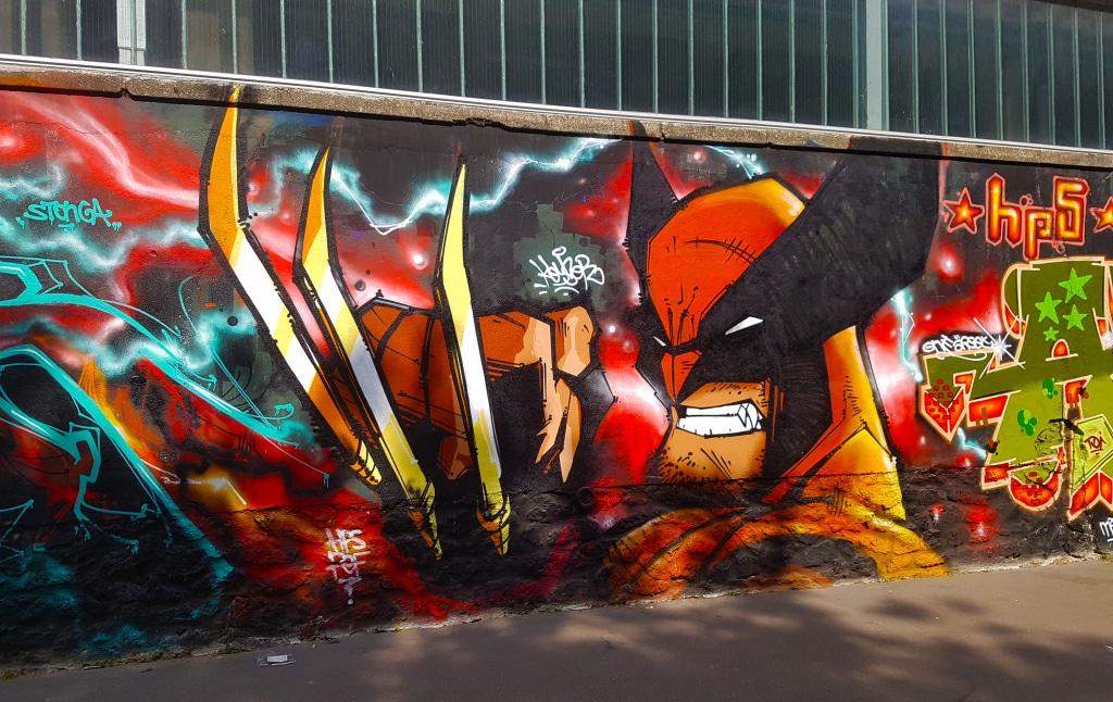 graffiti Paris en vrac n°6