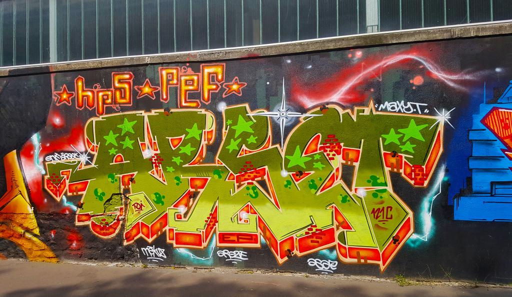 graffiti Paris en vrac n°5