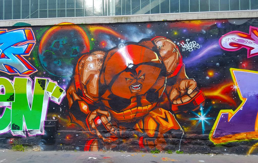 graffiti Paris en vrac n°4