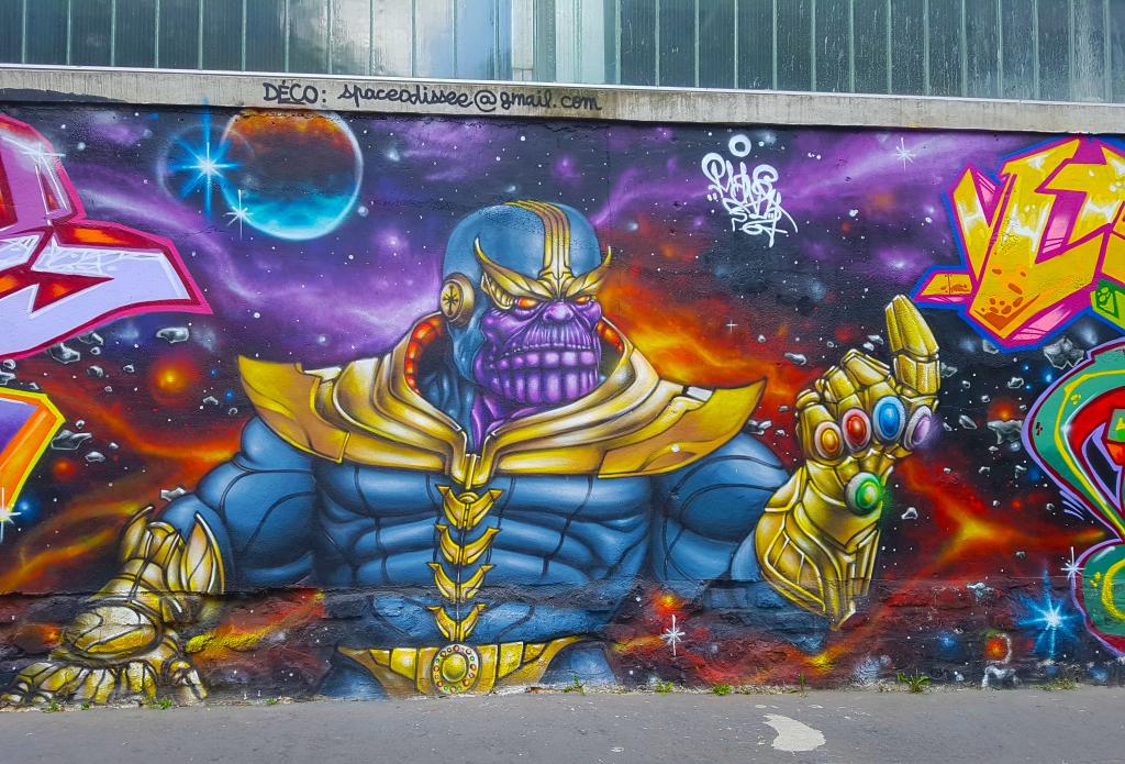 street art Paris en vrac n°3