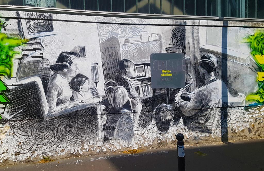 street art Paris en vrac n°2