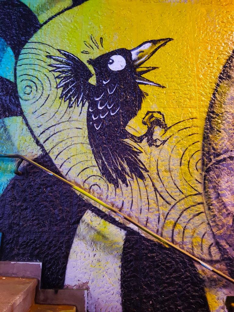 Sauve qui peut, street art Paris