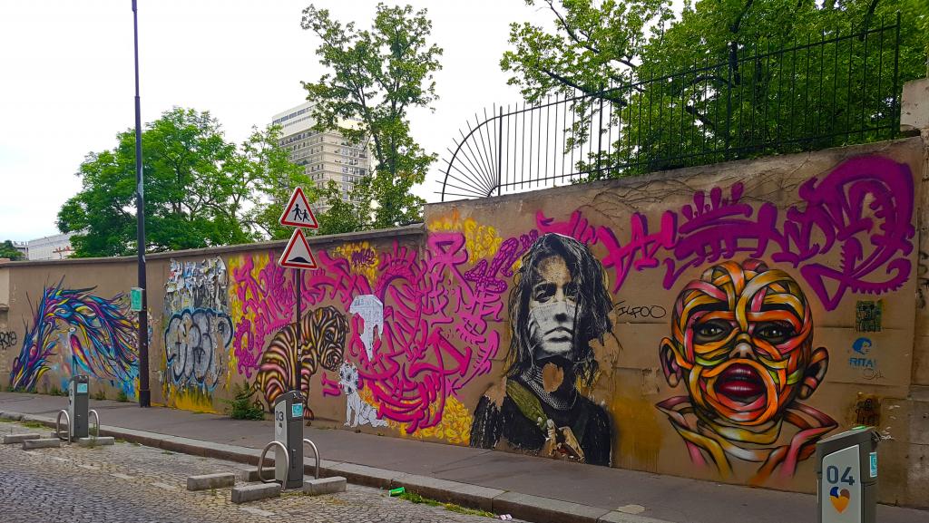 Rue de Croulebarbe, street art Paris