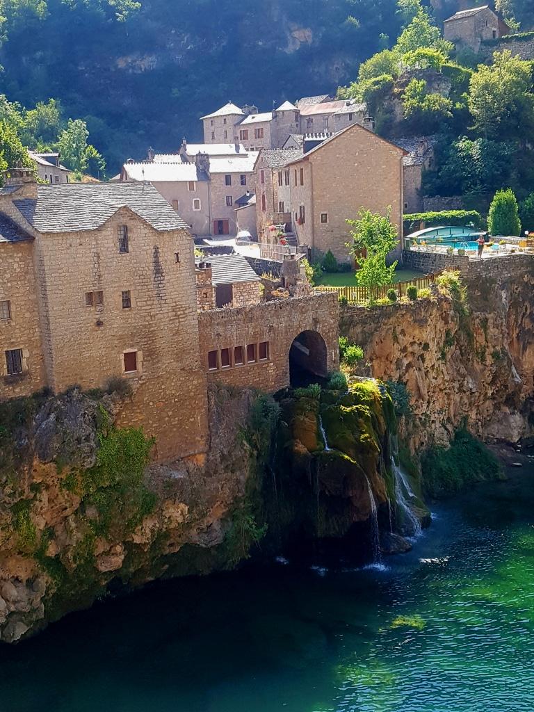 Les cascades de Saint-Chély du Tarn