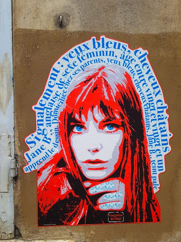 Le collage de Singular Vintage à la Butte-aux-Cailles, Paris