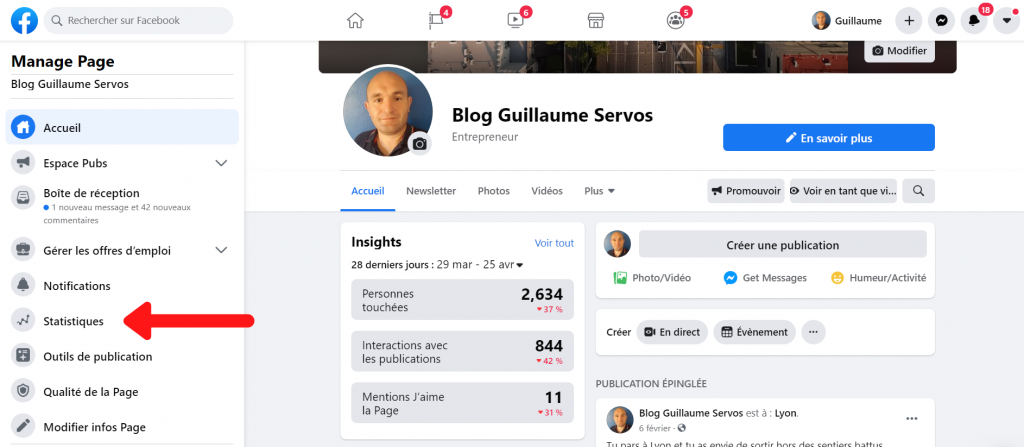 Comment accéder au Facebook Analytics ?