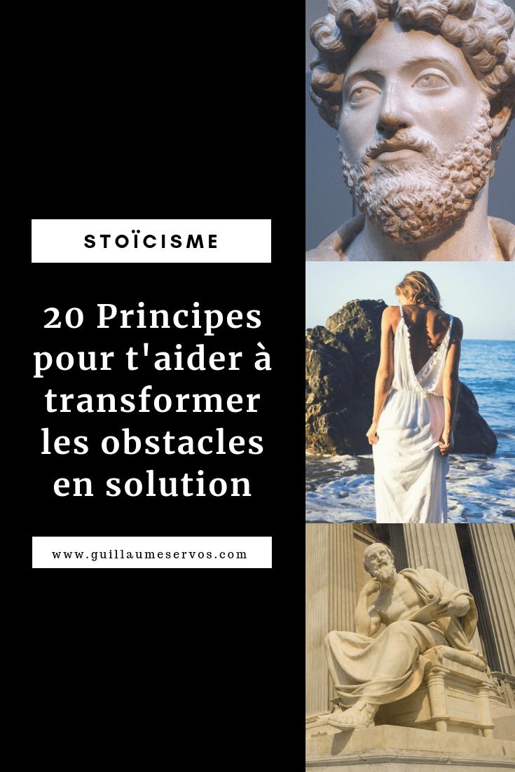 Découvre comment réagir face aux obstacles et tirer profit de l'adversité pour réussir avec le stoïcisme. Au menu : Ryan Holiday, Marc Aurèle, Sénèque, Epictète