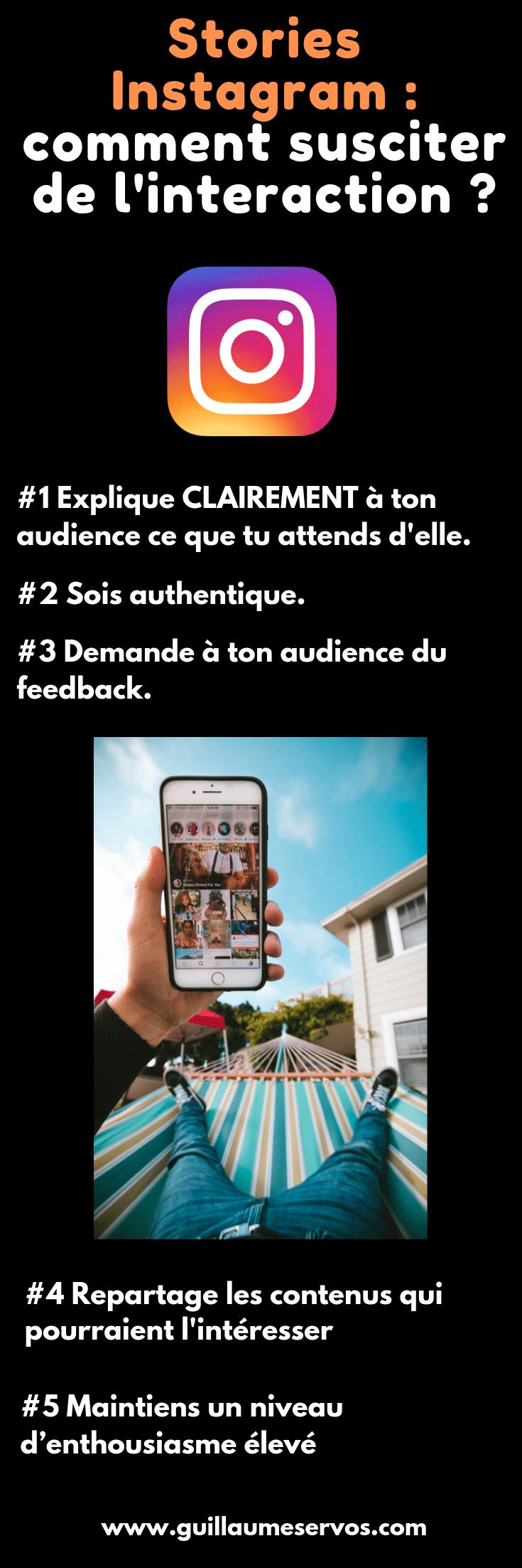 Comment utiliser les stories Instagram pour susciter de l'intérêt et provoquer de l'interaction ? Au menu : stickers, lien de bio, authenticité, créativité…