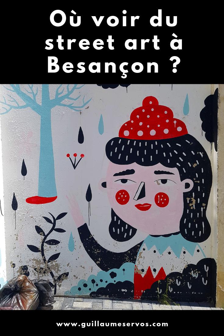 Découvre ma balade street art à Besançon dans le Doubs avec en bonus son itinéraire détaillé. Au menu : le festival Bien Urbain, ESPO, Harsa, Hyuro...