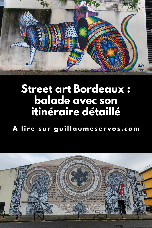Découvre ma balade street art à Bordeaux avec son itinéraire détaillé. Au menu : espace Darwin, Alber, Spaik, Monkeybird, RAST…