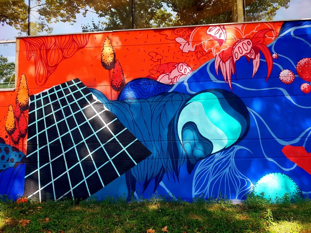 Nesta & Short 79, piscine Flottibulles, 83 cours Saint-André, Pont-de-Claix, street art Grenoble