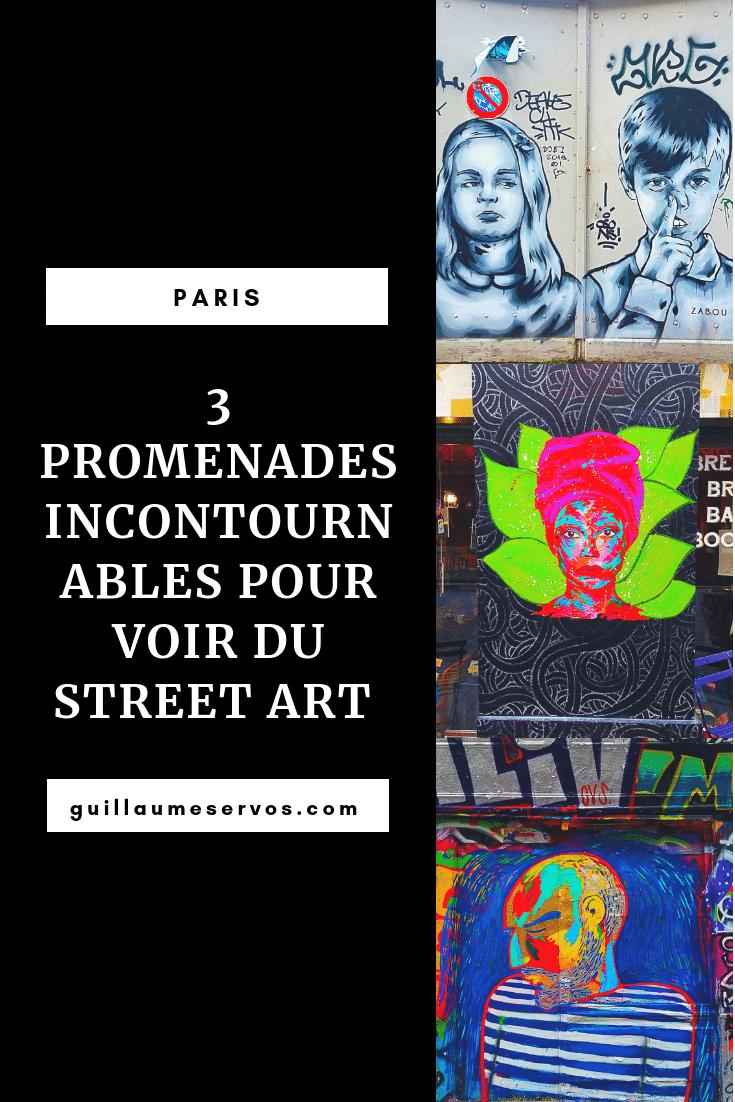 Découvre 3 promenades incontournables pour découvrir du street art à Paris avec leurs itinéraires détaillées. Au menu : la Butte aux Cailles, Mouffetard, Oberkampf, Belleville, Montmartre