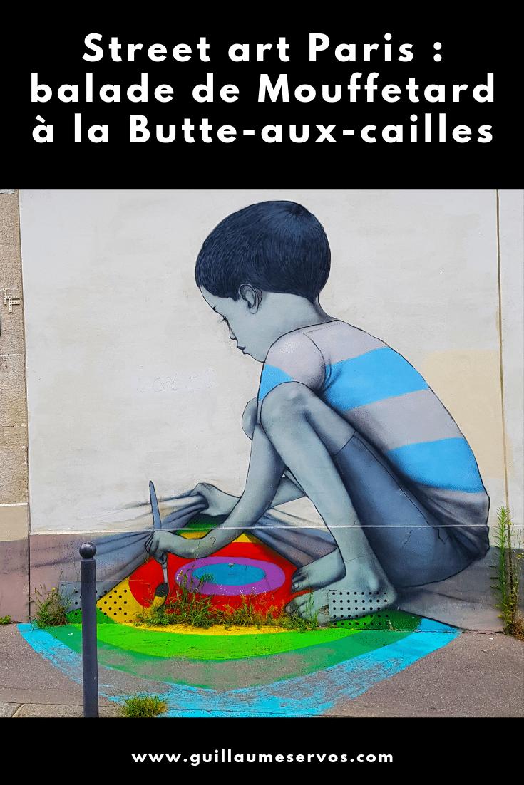 Tu es à Paris ? Tu aimes le street art ? Découvre ma balade entre Mouffetard et la Butte-aux-Cailles avec son itinéraire détaillé en bonus.