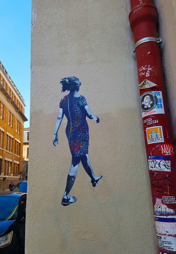 Noar Noarnito toujours dans le Marais, street art Paris.
