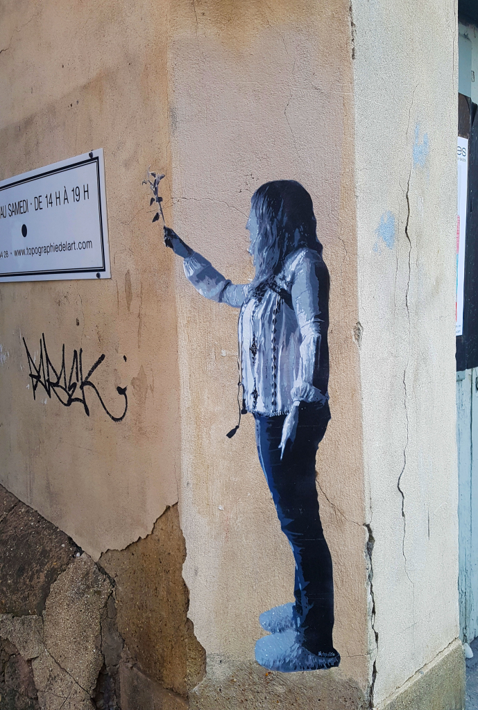 Noar Noarnito encore dans le Marais, street art Paris.