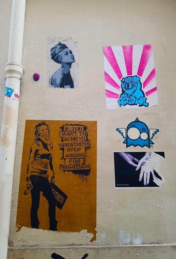 Street art dans le Marais.