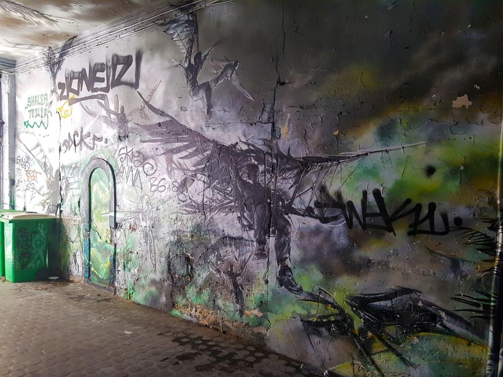 Street art dans le Marais